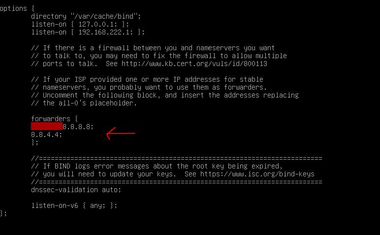 instalacja DNS