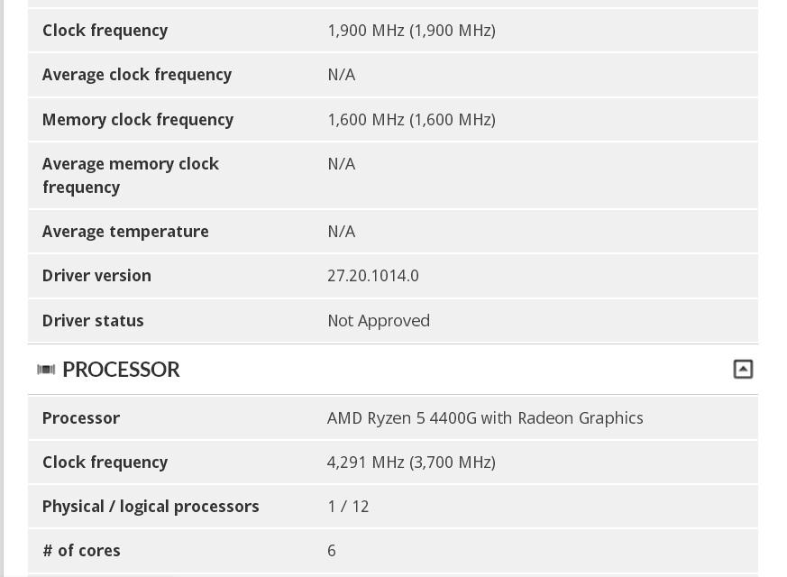 AMD Ryzen 5 4400G