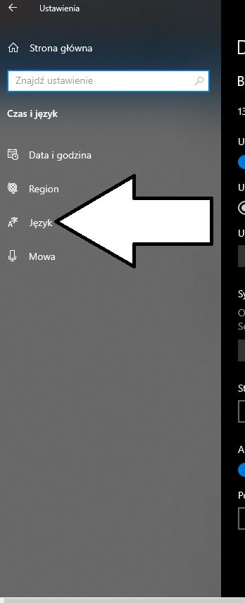 Jak dodać język klawiatury Windows 10