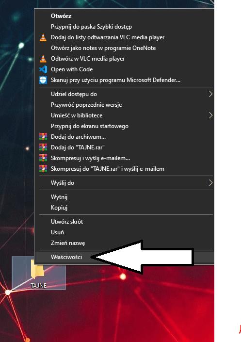 Ukryty folder windows 10