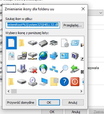 jak zmienić ikonę aplikacji windows 10